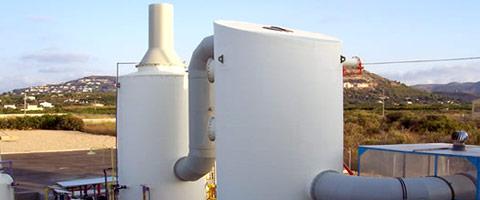 Ozono en Torres Desodorizantes